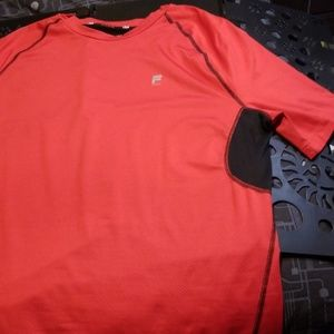 XL Red Fila TruDry Athletic Shirt
